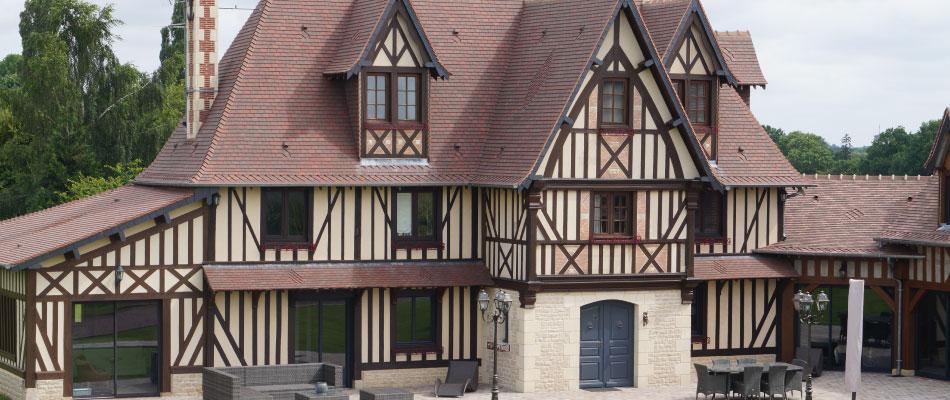 Christophe douvenou construction maison normande bernay 27 for Restauration maison normande